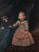 Vélasquez, L'Infante Marguerite Thérèse à trois ans