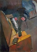 """Matisse, """"Intérieur à l'harmonium"""""""