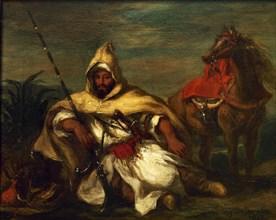 Delacroix, Un arabe