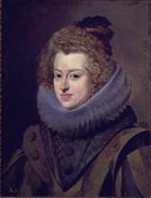 Vélasquez, Marie d'Autriche - Reine de Hongrie - Fille de Philippe III
