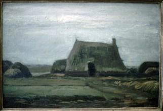 Van Gogh, Maison de campagne et tourbière