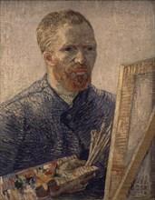 Van Gogh, Autoportrait au chevalet