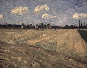 Van Gogh, Le champ labouré