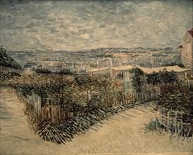 Van Gogh, Jardins potagers de Montmartre