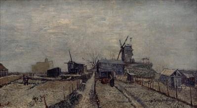 Van Gogh, Vue des jardins ouvriers à Montmartre