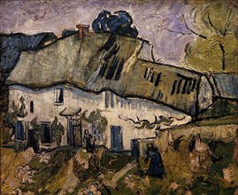 Van Gogh, Les chaumières à Auvers sur Oise
