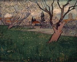 Van Gogh, Verger en fleurs à Arles