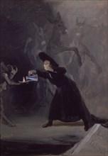 Goya, La Lampe du Diable