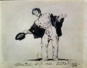Goya, Mendicité