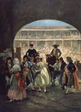Lucas Velázquez, La sortie des taureaux