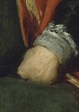 Vélasquez, Sebastián de Morra (détail)