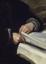 Vélasquez, Le bouffon Don Diego de Acedo (détail)