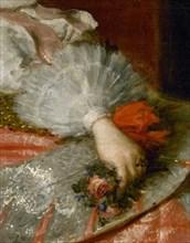 Vélasquez, L'Infante Marguerite d'Autriche (détail)
