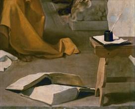 Vélasquez, Saint Thomas d'Aquin en extase (détail)
