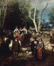 Lucas Velázquez, Foire au bétail