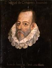 Jauregui, Portrait de Miguel de Cervantes Saavedra