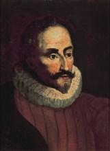 Del Arco (d'après), Portrait de Miguel de Cervantes