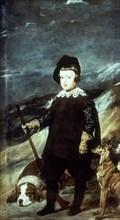 Vélasquez, Le prince Baltasar Carlos, chasseur