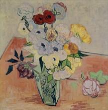 Van Gogh, Roses et anémones