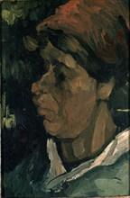 Van Gogh, Tête de paysanne hollandaise