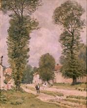 Sisley, La route de Versailles