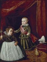Vélasquez, Portrait du prince Baltasar Carlos avec un nain
