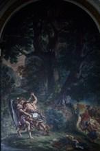 Delacroix, Lutte de Jacob avec l'Ange