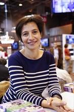 Nathalie le Breton au Salon du livre de Paris 2014