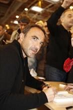 Nikos Aliagas, Salon du livre de Paris 2015