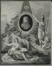 Gravure, Apothéose de Bonaparte, premier consul de la République Française