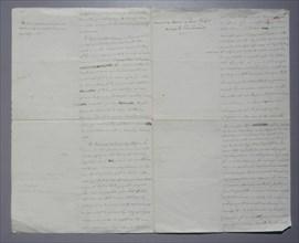 Manuscrit, Coup d'Etat du 18 Brumaire