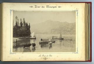 La Dent du Chat vue du Lac du Bourget