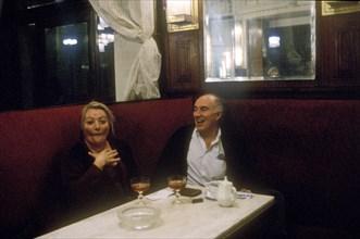 Michel Piccoli et Marianne Sägebrecht, 1989