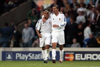 Zinedine Zidane,Roberto Carlos