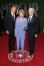 Michael Douglas, Anne Buydens, Kirk Douglas
