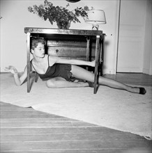 Brigitte Bardot (vers 1953-1954)