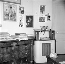 Bureau de Pierre Brasseur
