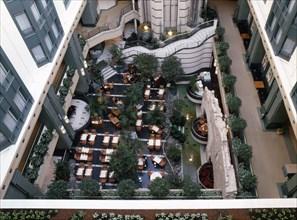 HOTEL RADISSON, COUR INTERIEURE, BRUXELLES, BELGIQUE