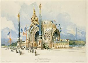 Porte d'entrée de l'Exposition Universelle de 1900