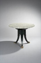 Chanaux et Pelletier, Table