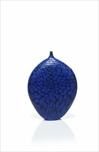 Micheluzzi, Blue Murrine vase