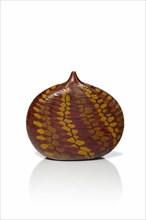 Micheluzzi, Brown and Yellow Murrine vase