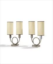 Jean Royere, Paire de lampes de table