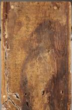 Panneau de sarcophage (vue arrière)