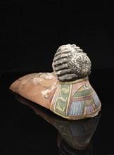Masque plastron de momie (vue arrière)