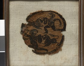 Orbiculum orné de deux gladiateurs