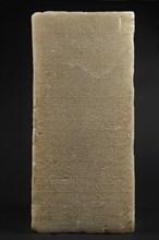 Socle de statue gravé d'un long texte sabéen