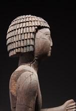 Statue de dignitaire (détail)