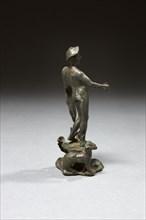 Statuette représentant le dieu Mercure (vue arrière)