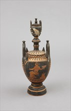 Lébès gamikos attribué à l'atelier d'Astéas et Python